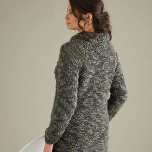 Sirdar 10016 Shawl Collared Cardigan in Elemental PDF -  ()