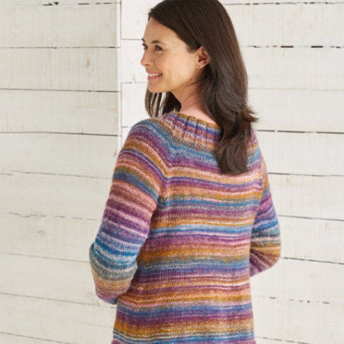 Sirdar 10026 Open Cardigan in Jewelspun PDF -  ()