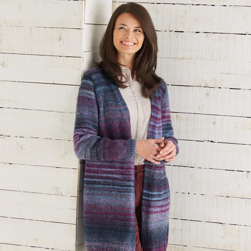 Sirdar 10029 Long Cardigan in Jewelspun PDF -  ()