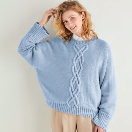 Sirdar 10170 Pullover in Country Classic Worsted PDF -  ()