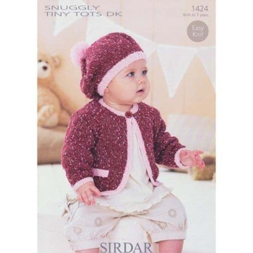 Sirdar 1424 Jacket and Beret -  ()