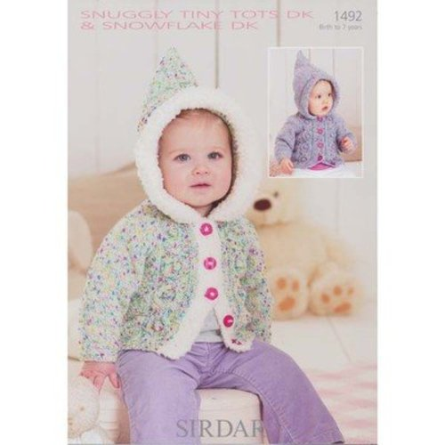Sirdar 1492 Hooded Cardigans -  ()