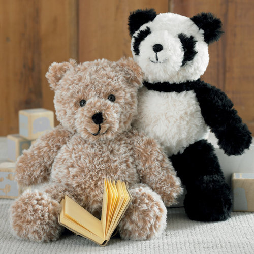 Sirdar 2495 Panda and Teddy Bear Kit - Panda (P1)