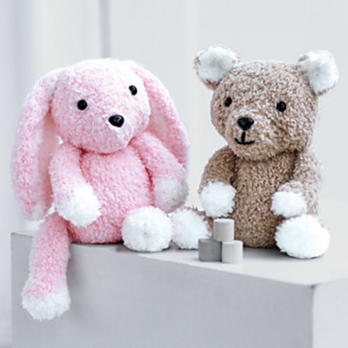 Sirdar 2521 Teddy and Bunny Toy in Snuggly Bunny PDF -  ()