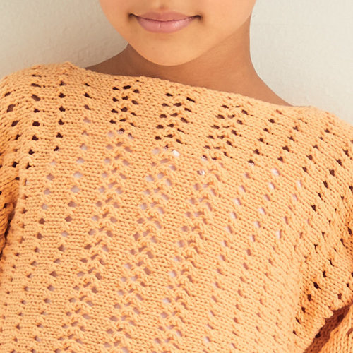 Sirdar 2548 Lace Mesh Pullover PDF -  ()