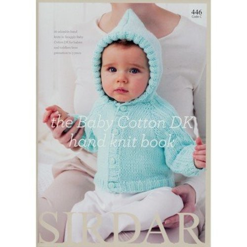 Sirdar 446 The Baby Cotton DK Hand Knit Book -  ()