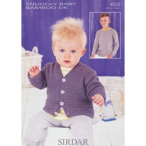 Sirdar 4520 Sweater and Cardigan -  ()