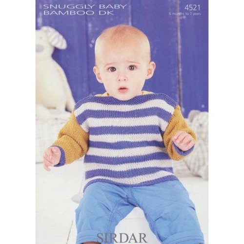 Sirdar 4521 Baby's and Boy's Sweaters -  ()