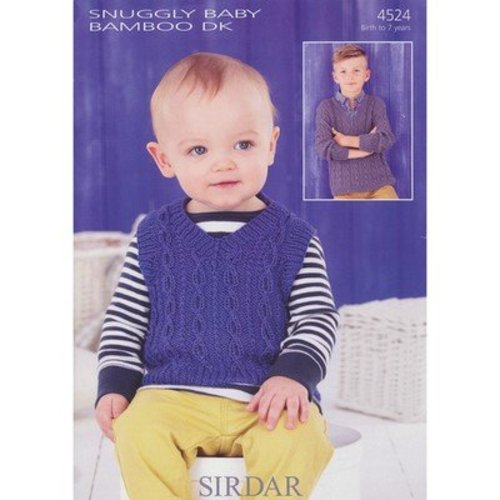 Sirdar 4524 Tank and Sweater -  ()