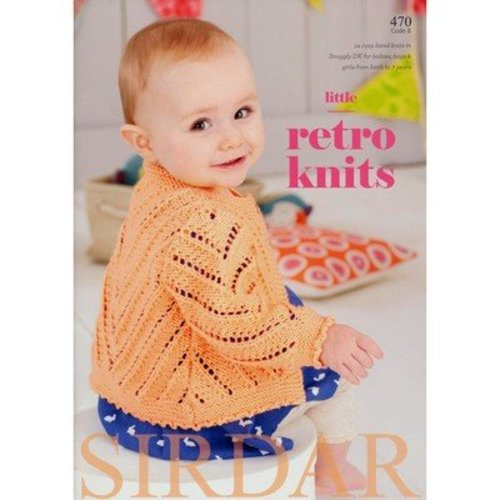 Sirdar 470 Little Retro Knits -  ()