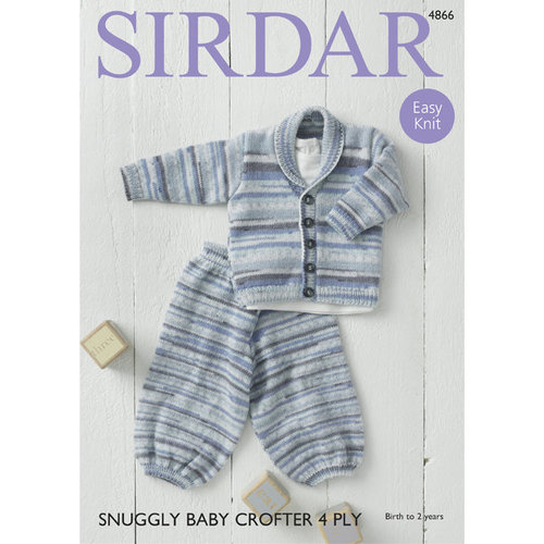 Sirdar 4866 Jacket and Trousers PDF -  ()