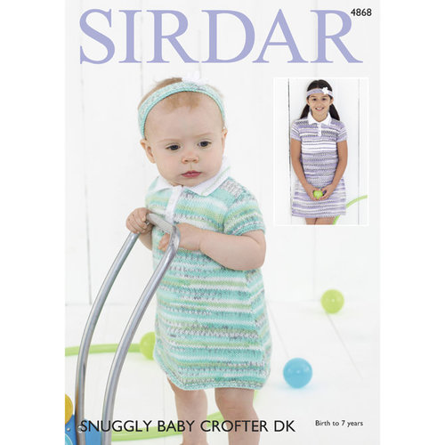 Sirdar 4868 Dresses and Headbands PDF -  ()