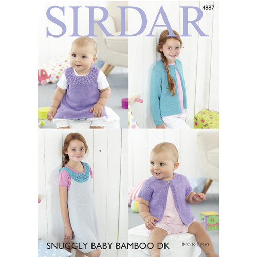 Sirdar 4887 Cardigans and Dresses PDF -  ()