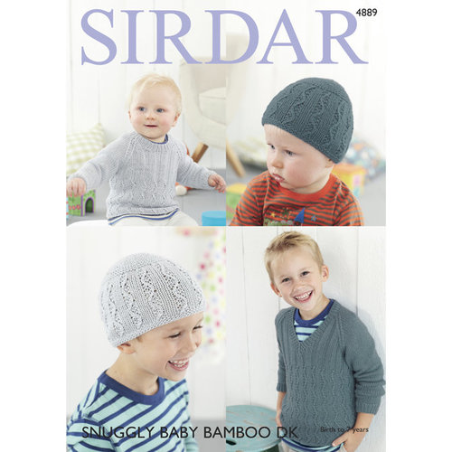 Sirdar 4889 Boy's Sweaters and Hat PDF -  ()