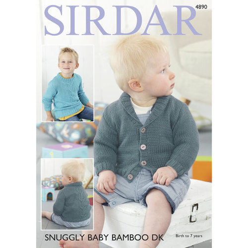 Sirdar 4890 Sweater & Cardigan - Download (4890)