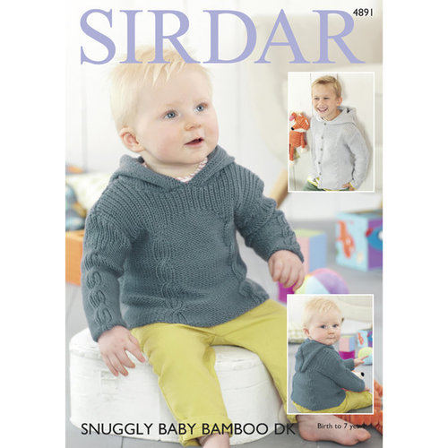 Sirdar 4891 Sweater and Jacket PDF -  ()