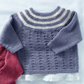 Sirdar 5291 Pullover Kit - 12 months-2 years (02)