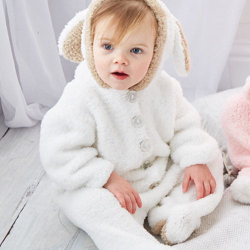 Sirdar 5306 Bunny, Sheep or Teddy Bear All-In-Ones in Bunny PDF -  ()