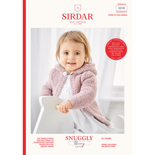 Sirdar 5310 Hooded and Round Neck Jacket PDF -  ()