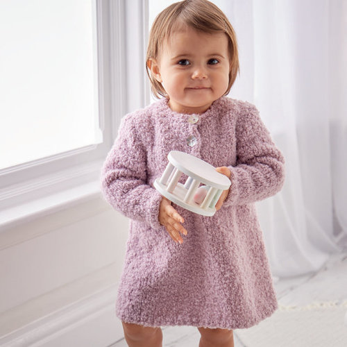 Sirdar 5312 Pullover and Dress in Snuggly Bouclette PDF -  ()