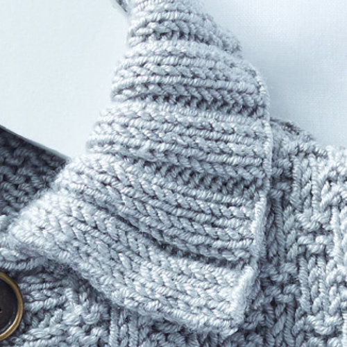 Sirdar 5318 Collared Cardigan in Snuggly Soothing PDF -  ()
