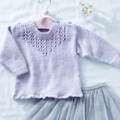 Sirdar 5320 Lace Inset Pullover in Snuggly Soothing PDF -  ()