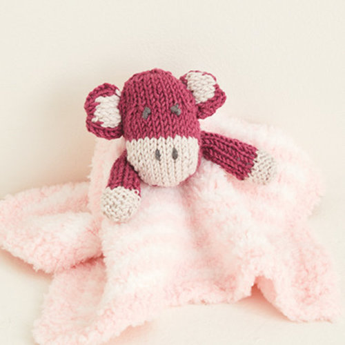 Sirdar 5374 Baby Sweater with Monkey Motif and Toy PDF -  ()