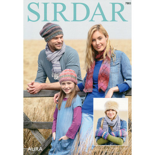Sirdar 7883 Hats, Scarf and Mittens -  ()