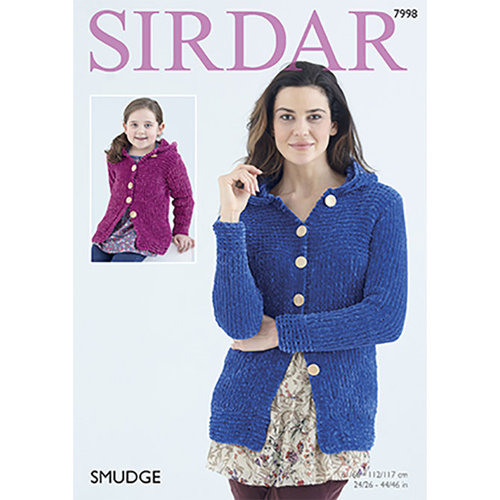 Sirdar 7998 Ladies and Girls Jackets -  ()