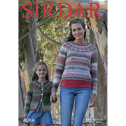 Sirdar 8005 Sweater & Cardigan -  ()