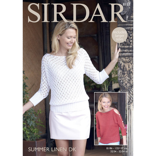 Sirdar 8137 Woman's Top PDF -  ()