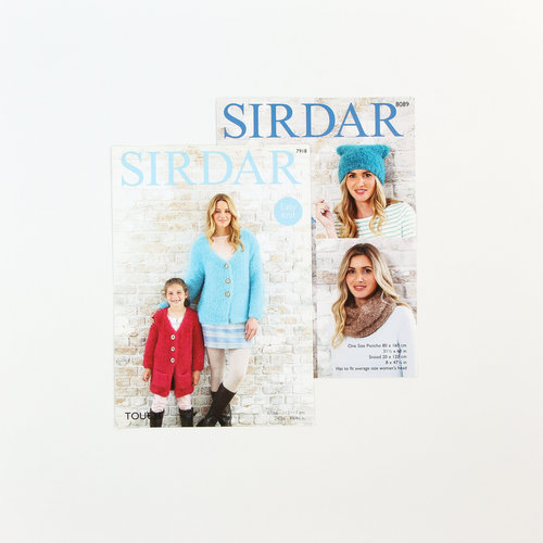 Sirdar Free Pattern 2 Pack - Touch -  ()