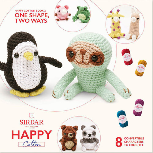 Sirdar One Shape, Two Ways (Happy Cotton Book 2) -  ()