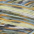 Sirdar Snuggly Baby Crofter Fair Isle Effect DK Discontinued Colors - Slate Blue, Gray, Gold, Yellow (145)