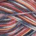 Sirdar Snuggly Baby Crofter Fair Isle Effect DK Discontinued Colors - Peach, Wine, Charcoal, White, Pink (176)