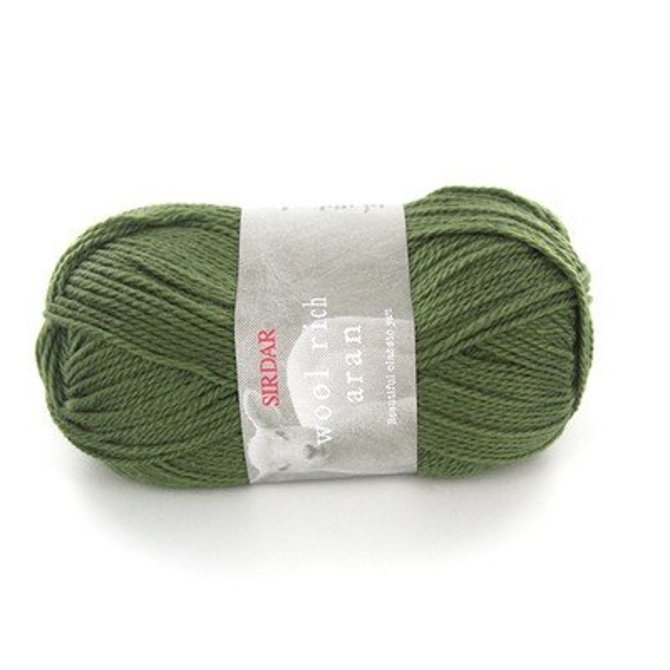 2ece29a47 Sirdar Wool Rich Aran Yarn at WEBS