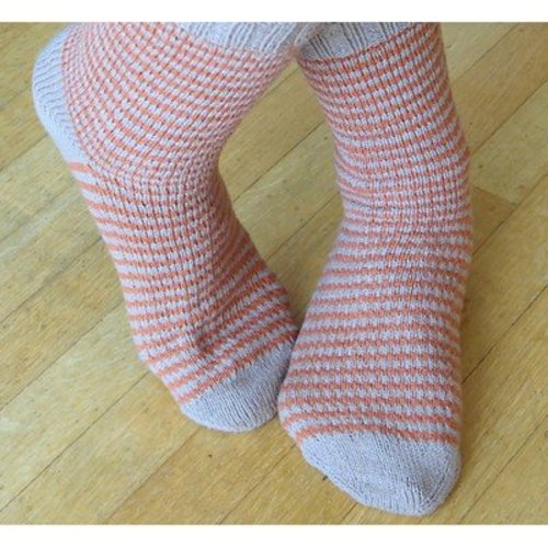 Skacel Tom & Ethel Socks (Free) -  ()