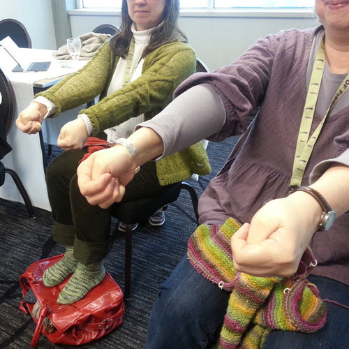 Small Group Mini-Consultation on Personal Knitting Ergonomics -  ()