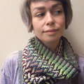 Spincycle Yarns Issa Cowl Kit - Absinthe-Nostalgia (ABSNOS)