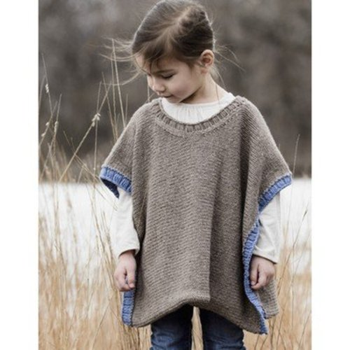 Spud & Chloe by Blue Sky Fibers Puddle Jumper Poncho PDF -  ()