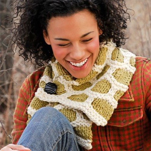 Spud & Chloe by Blue Sky Fibers 9202 Bumble Up Scarf - Download (9202PDF)