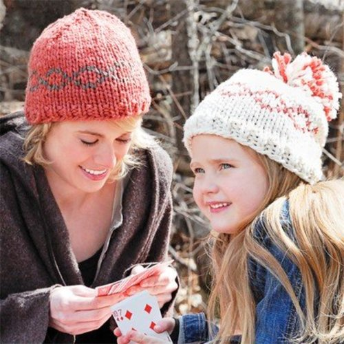 Spud & Chloe by Blue Sky Fibers 9205 Pom Pom or Knot Hats - Download (9205PDF)