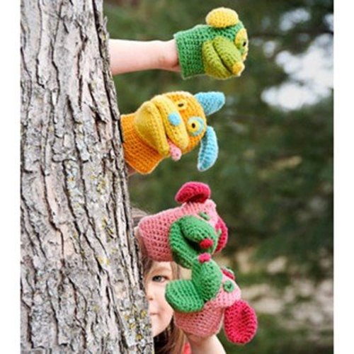 Spud & Chloe by Blue Sky Fibers 9514 Pack O' Puppies Mitts - Download (9514PDF)