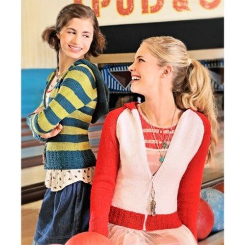 Spud & Chloe by Blue Sky Fibers 9519 School Colors Hoodie - Printed (9519)