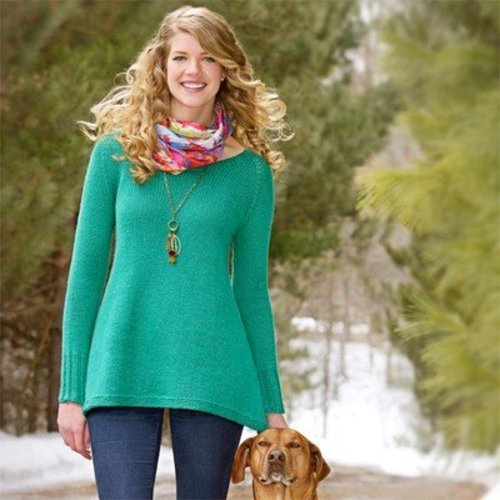 Spud & Chloe by Blue Sky Fibers 9529 Woodland Pullover - Download (9529PDF)