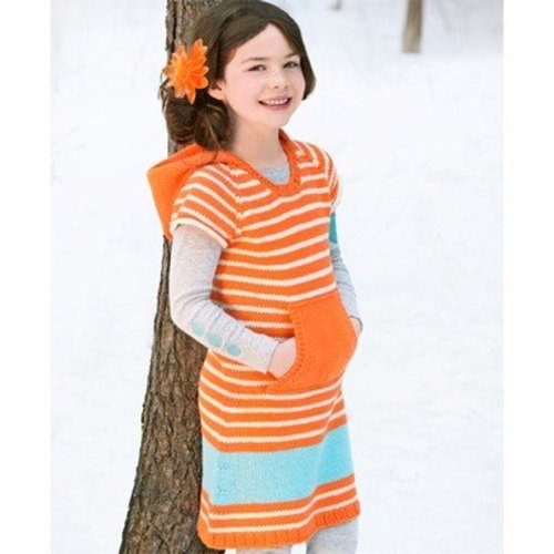 Spud & Chloe by Blue Sky Fibers 9531 Half-Pint Dress - Download (9531PDF)