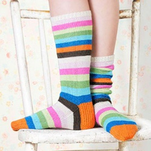 Spud & Chloe by Blue Sky Fibers 9808 Popsicle Socks - Download (9808PDF)