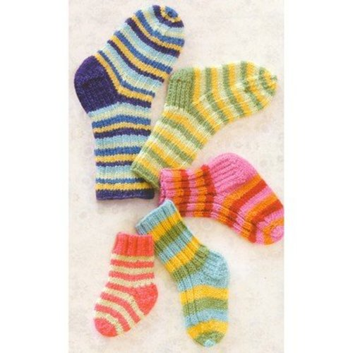 Spud & Chloe by Blue Sky Fibers 9810 Lots O' Socks - Download (9810PDF)