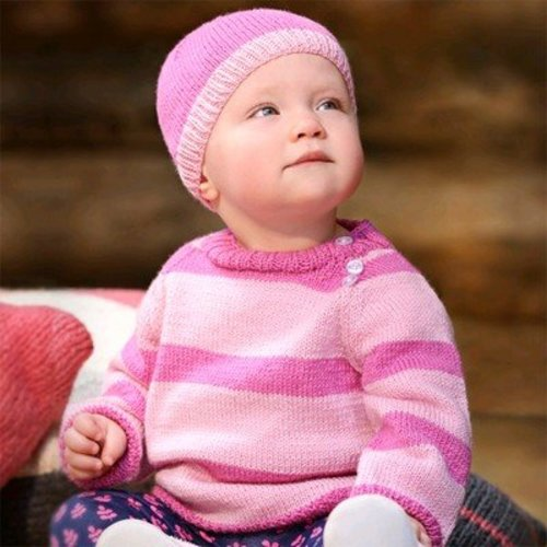 Spud & Chloe by Blue Sky Fibers 9817 Busy Baby Set - Download (9817PDF)