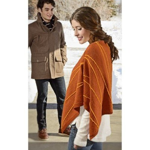 Spud & Chloe by Blue Sky Fibers 9820 Lightning Wrap PDF - Download (9820PDF)